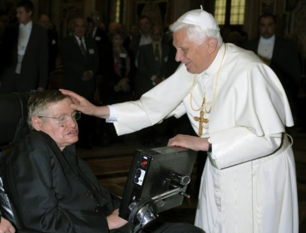 Stephen Hawking and Pope