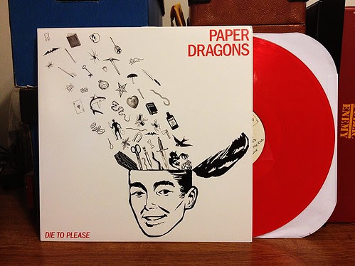 Paper Dragons - Die To Please LP - Red Vinyl (/110) by Tim PopKid