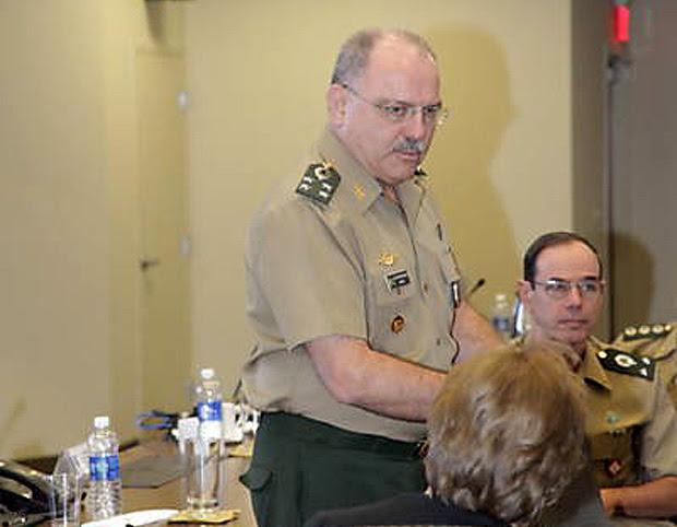Sérgio  ministro-chefe do Gabinete de Segurança Institucional