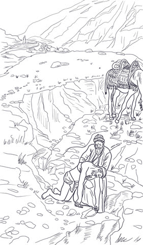 61 Free Printable Coloring Pages Good Samaritan Picture HD