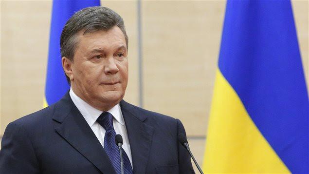 L'ex-président ukrainien Viktor Ianoukovitch.