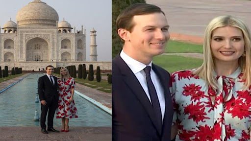 Avatar of Watch: Ivanka spends quality time with husband Jared at Taj Mahal