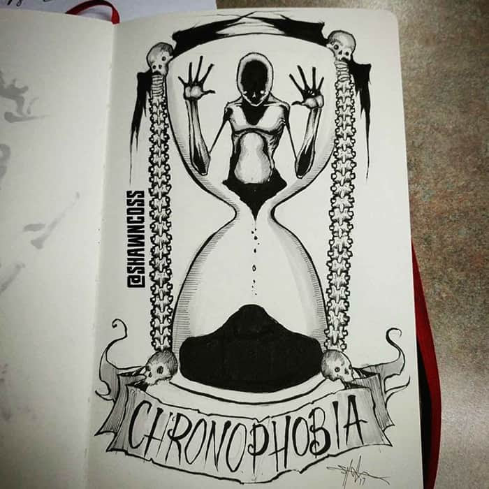 Shawn Coss Has Illustrated Phobias For Feartober And They ...