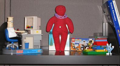 My Executive Toy Shelf