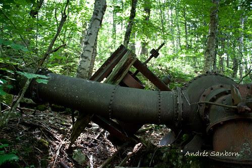 Abandoned Penstock & Turbine in Westmore (looking uphill)-6.jpg