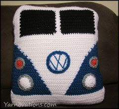 VW Van Free Crochet Pattern