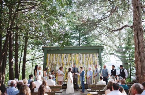 Wisconsin Camp Wedding: Lindsay   Bobby