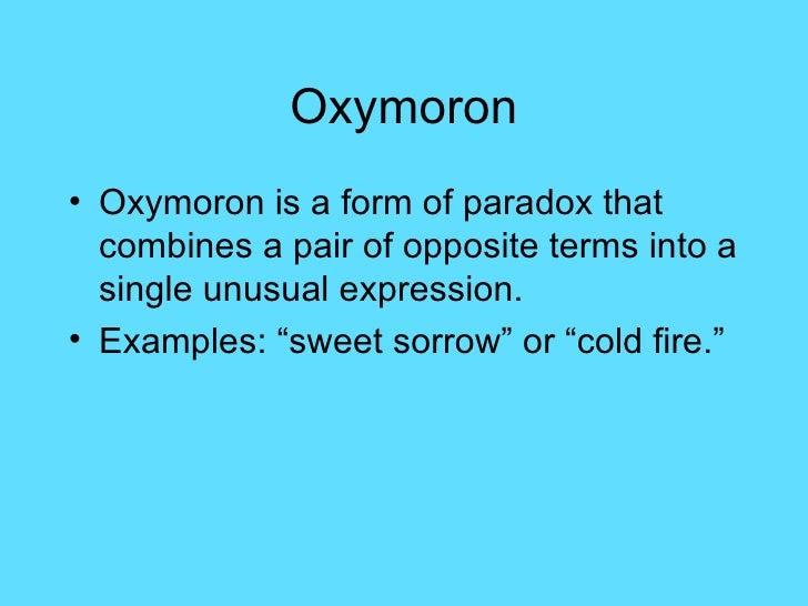 97 Example Of Poem Oxymoron