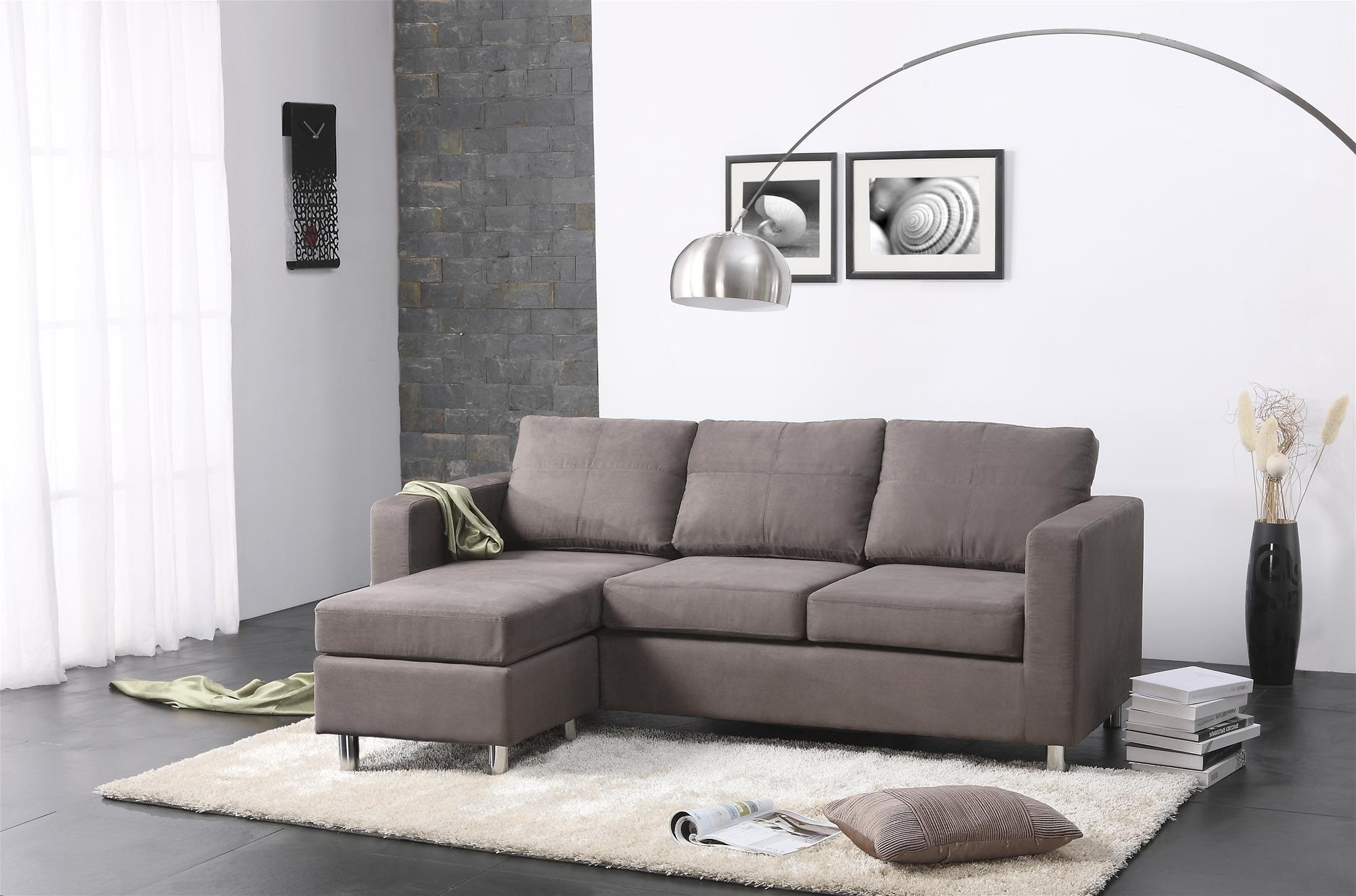 Living Rooms with Sectionals Sofa for Small Living Room ...