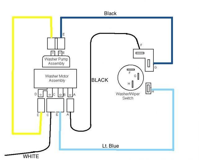Chevrolet Wiper Motor Wiring Diagram
