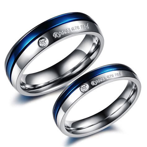 womens titanium wedding band