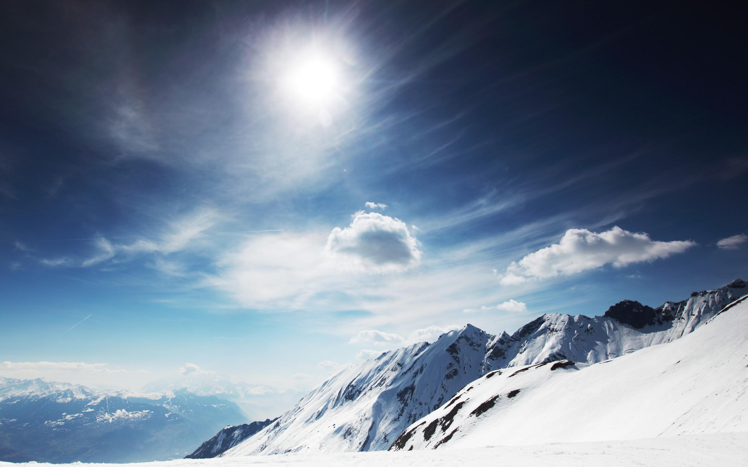 Snow Mountain Wallpaper 2560x1600 79834