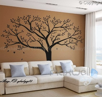 Giant Family Tree Wall Stickers Vinyl Art Home Photo Decals Room