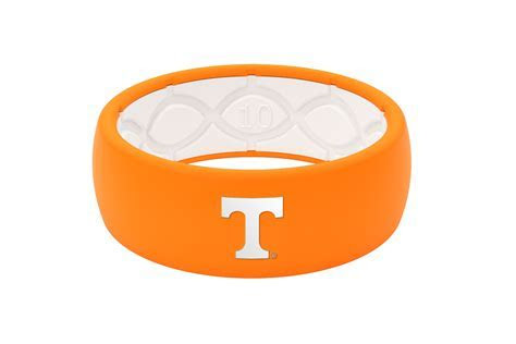 Tennessee Silicone Wedding Ring   Lifetime Warranty
