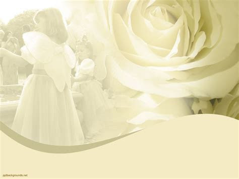 Fairy Wedding Backgrounds For PowerPoint   Love PPT Templates