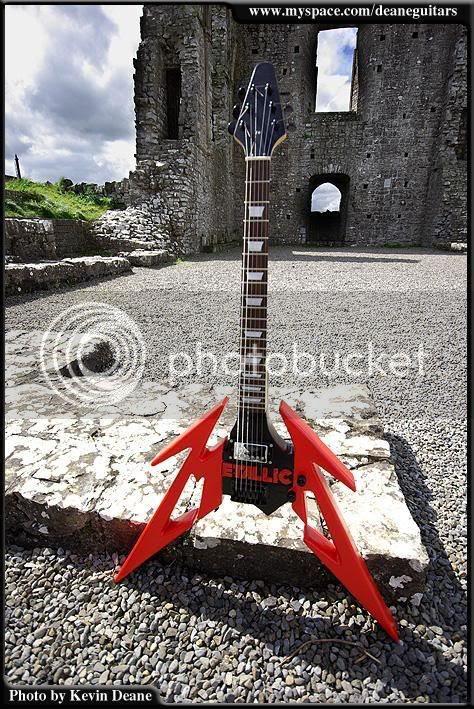 Kevin Deane Metallica Guitar