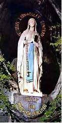 La aparición de Nuestra Señora en Lourdes