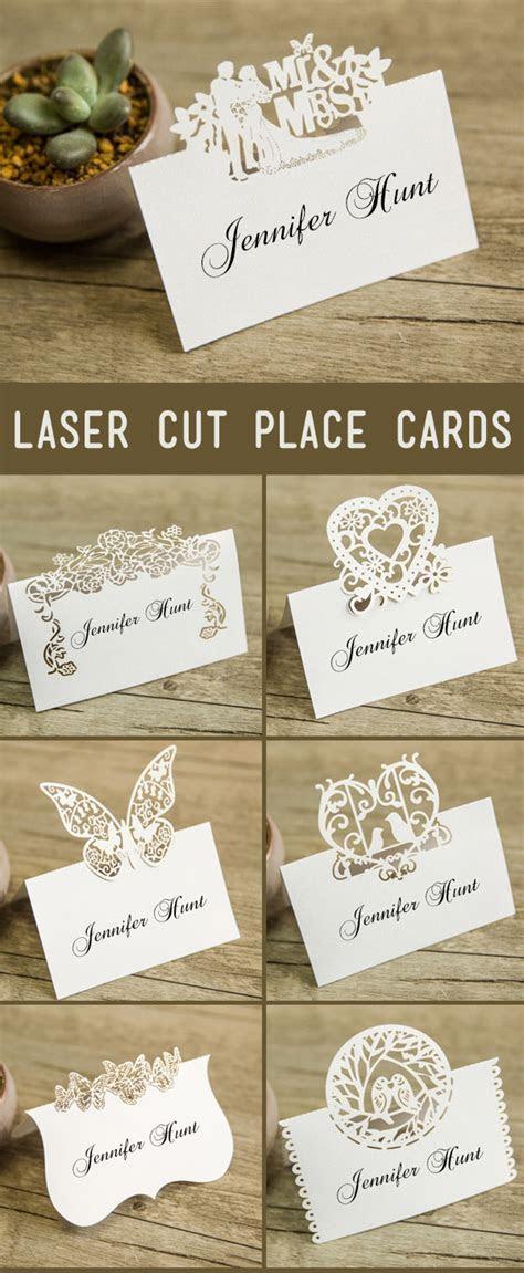 21 Unique Wedding Escort Cards & Place Cards Ideas