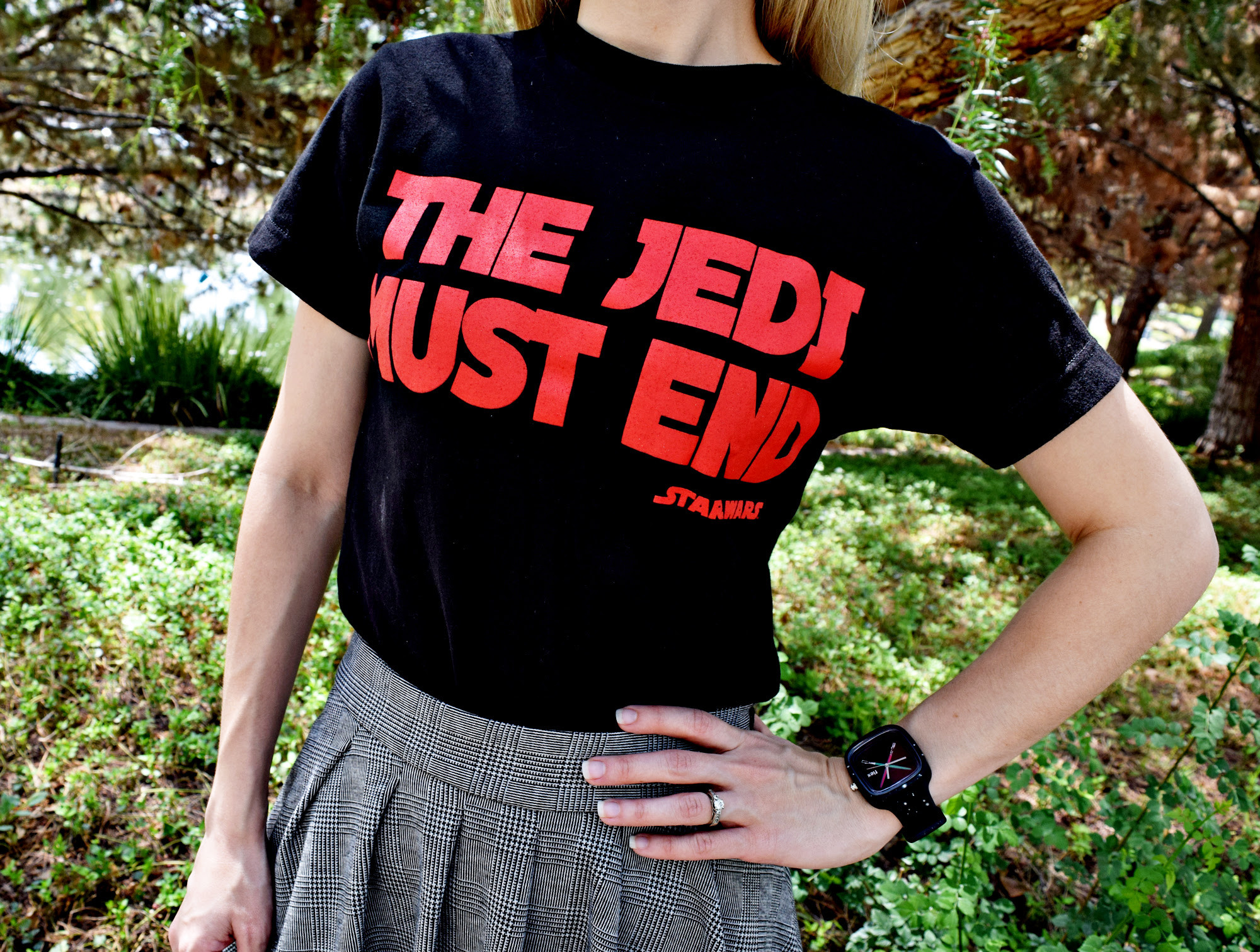 Star Wars OOTD: The Force Flex Watch   Anakin and His Angel