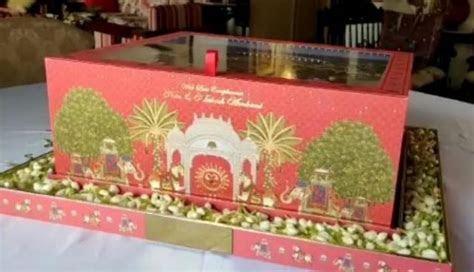 Video: Akash Ambani Shloka Mehta wedding card?s first