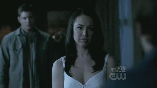 Lindsey as 'Tessa' on Supernatural [click to enlarge]