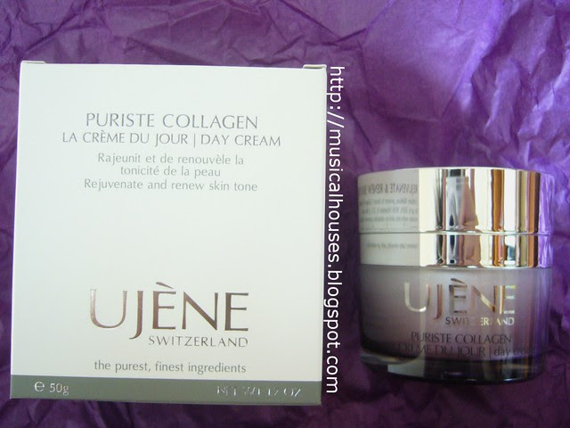 ujene puriste collagen day cream