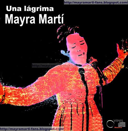 Mayra Martí _Una lágrima front