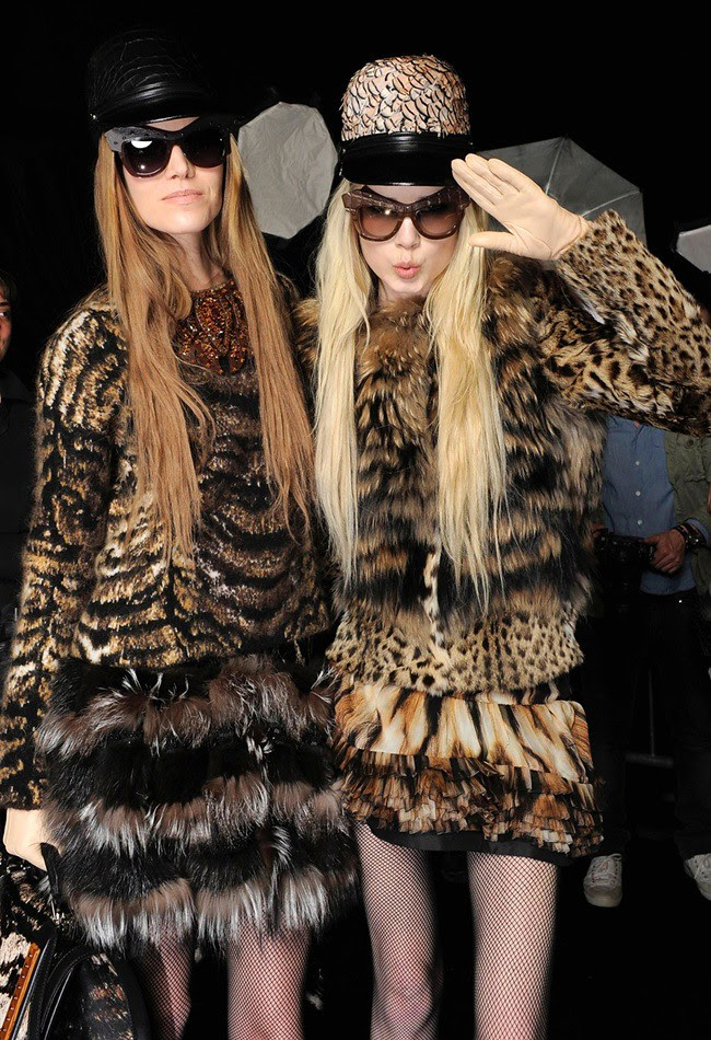 c Roberto Cavalli Eyewear 'Wild Diva' - Special Sunglasses Edition - RC Aw12-13 Fashion Show Backstage (3)