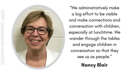 113 Nancy Blair Creating a nurturing environment