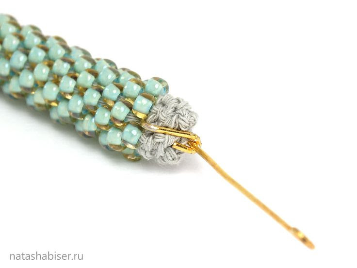 NatashaBiser - handmade jewelry: MK: Snap lock to knitted cord