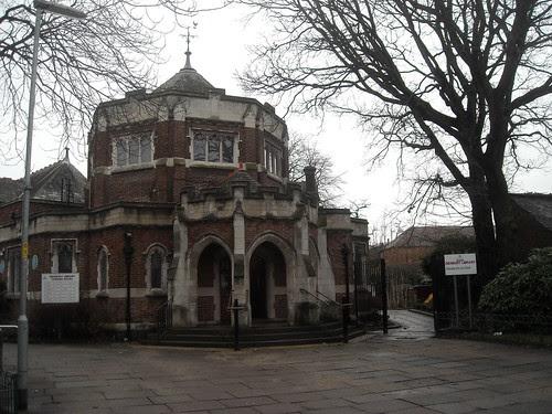 Didsbury Library, Didsbury Village