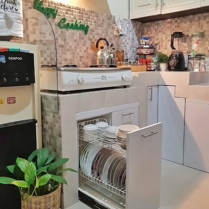 Rak Piring Dapur Gantung | Ide Rumah Minimalis