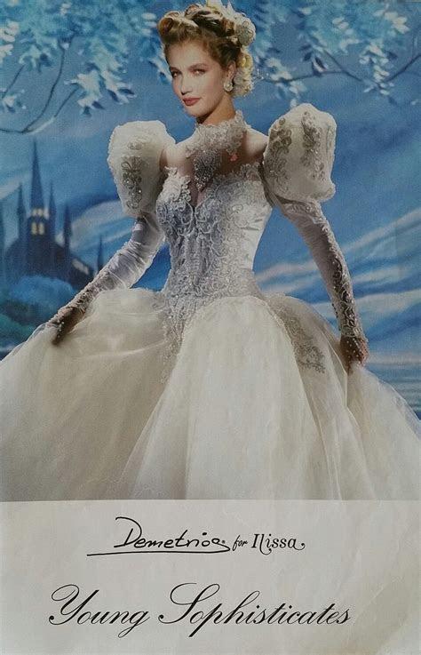 Demetrios 1990/1991   demetrios   Wedding dress with veil