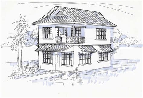 home design drawing house plans