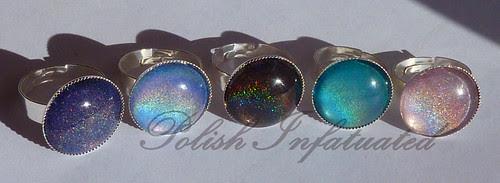 holographic nail polish rings2