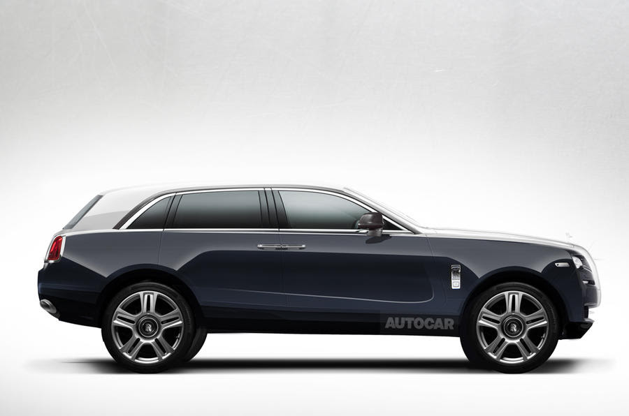 Rolls Royce 4x4 has been confirmed for production this is an artist 39 ...