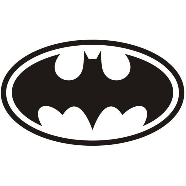 Disegno Di Simbolo Di Batman Da Colorare Per Bambini