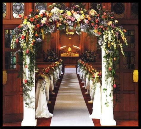 28 best images about Church Weddings Decorations on