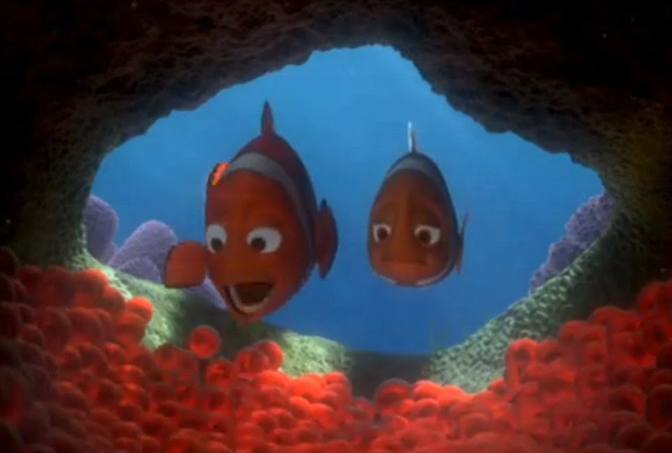 The adorable fish in water comedy-adventure finding Nemo begins in the Great Barrier Reef but the wildlife starkly resembles reality