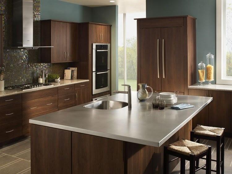 edelstahl arbeitsplatte für die küche  die vor und nachteile