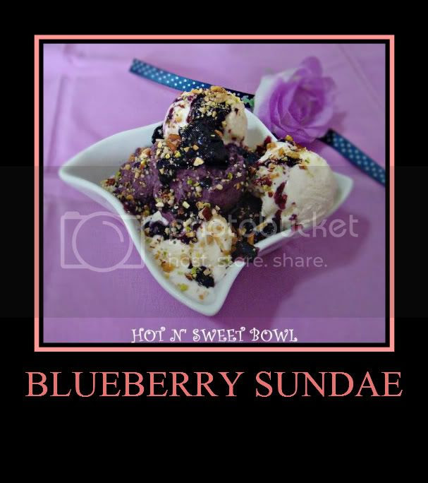 Blueberry Sundae