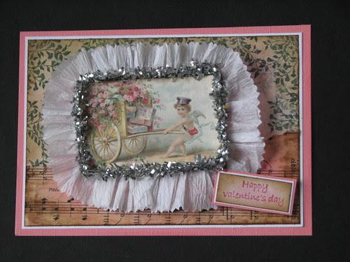 Vintage Valentine #3 - Valentine Plaque Card 013