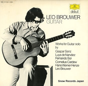 BROUWER, LEO guitar recital