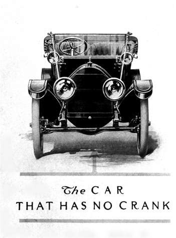 The First Electric Self Starter, Feb. 17, 1911   Cars In Depth