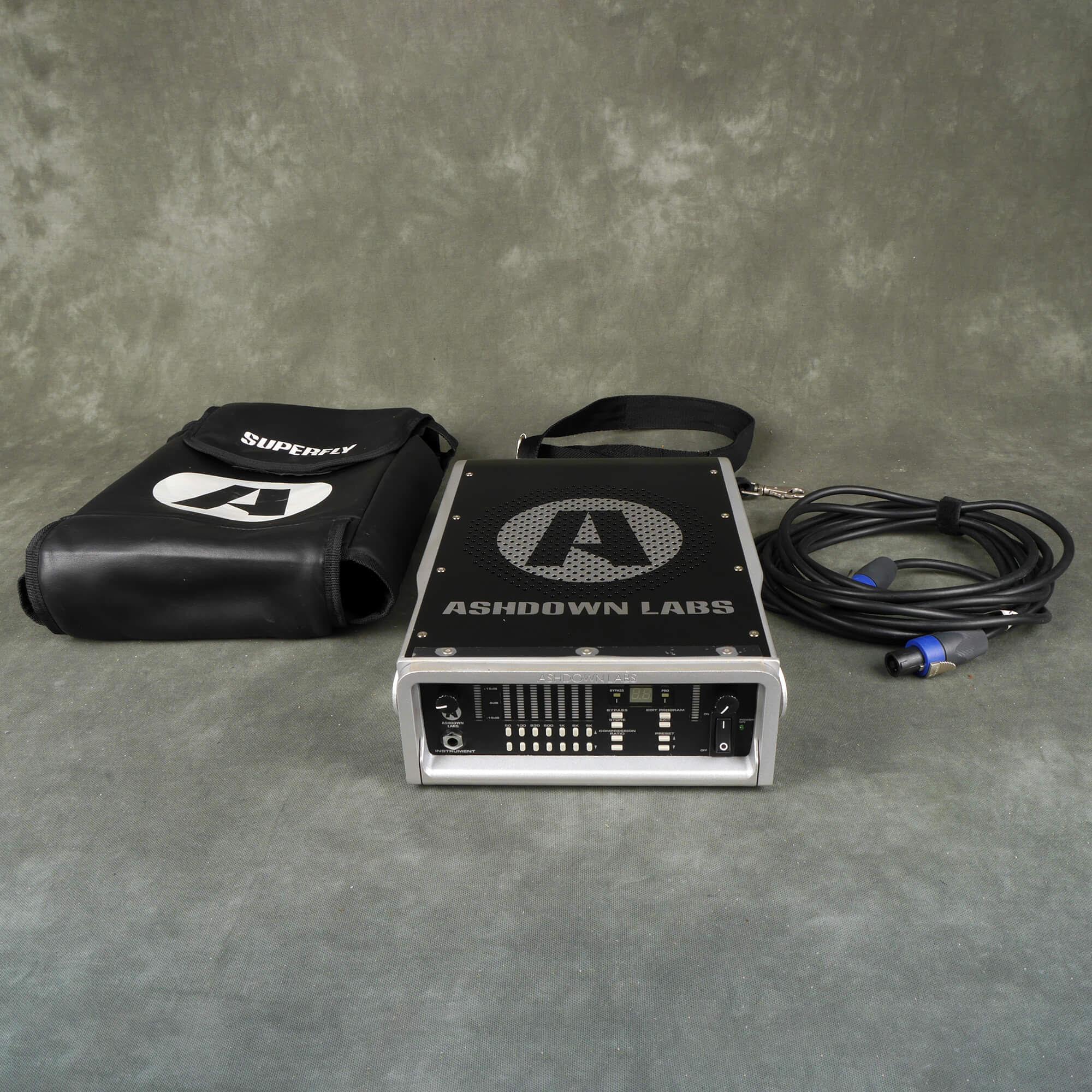 Ashdown Superfly 500 Bass Amplifier Head W Gig Bag 2nd Hand Rich Tone Music