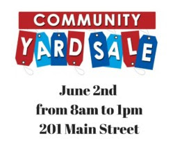 Community Yard Sale and Vendor Fair - June 2