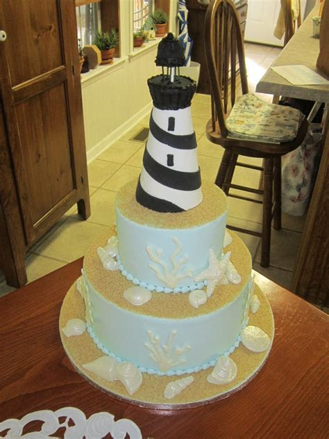 17 Best ideas about Lighthouse Cake on Pinterest
