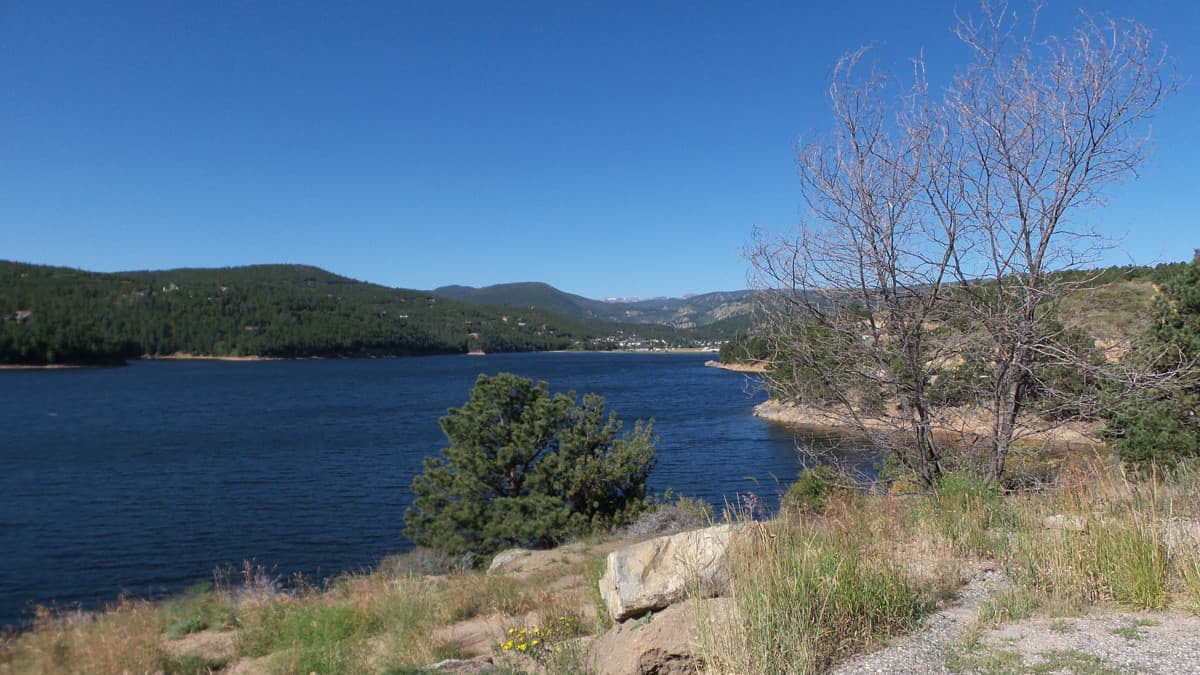 Nederland Colorado Lake Mountain View