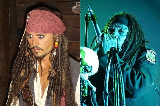 Jack Sparrow e Al Joursen (Foto: Reprodução | Felipe Tito/ G1)