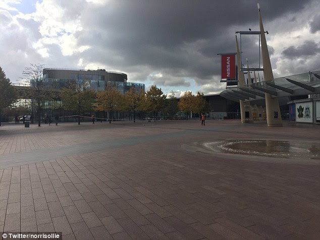 Cordon:North Greenwich station was closed for more than seven hours and no trains were running between Stratford and Canary Wharf in East London from 11am until about 3.15pm